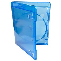 1 Way Amaray Blu-Ray Case Blue 11mm