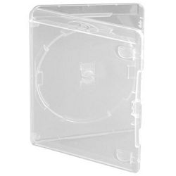 1 Way Amaray Clear Blu-Ray Case 15mm