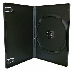 1 Way DVD Box Crni 14mm Professional Quality