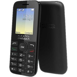 Alcatel 1016D Dual-SIM black DE