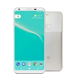 Google Pixel 2 4G 128GB clearly white DE
