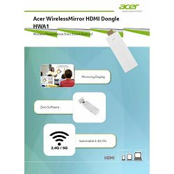 Acer WirelessMirror HDMI Dongle HWA1
