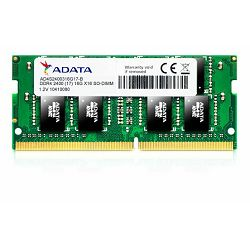 Adata Memorija SO-DIMM DDR4 4GB 2400MHz SINGLE TRAY