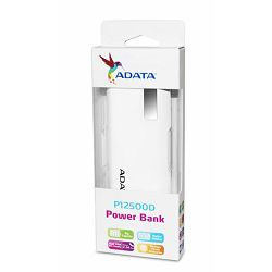 ADATA  Power Bank P12500D WHITE AD