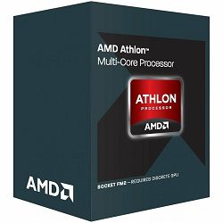 AMD CPU Carrizo Athlon X4 845 (3.5/3.8GHz Boost,4MB,65W,FM2+, with silent cooler) box