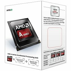 AMD CPU Kaveri A8-Series X4 7600 (3.8GHz,4MB,65W,FM2+) box, Radeon TM R7 Series