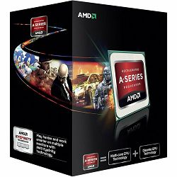 AMD CPU Richland A6-Series X2 6420K (4.0GHz,1MB,65W,FM2) box, Black Edition, Radeon TM HD 8470D