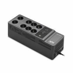 APC Back-UPS 650VA 400W, 230V, 8 Outlets 1 USB charging port