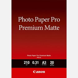 Canon Photo Paper Premium Matte PM101 - A3- 20L
