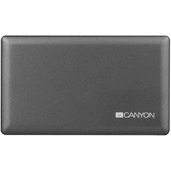 CANYON CardReader All in one CNE-CARD2 (CF/micro SD/SD/SDHC/SDXC/MS/Xd/M2) USB 2.0, Gray