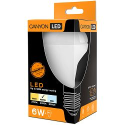CANYON R50E14FR6W230VN LED lamp, R50 shape, E14, 6W, 220-240V, 120°, 517 lm, 4000K, Ra>80, 50000 h