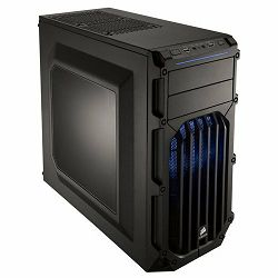 Corsair Carbide Series SPEC-02 Mid Tower Case, Blue LED