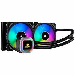 Corsair Hydro Series H115i RGB PLATINUM Liquid CPU Cooler, an all-in-one liquid CPU cooler with a 280mm radiator and vivid RGB lighting that's built for extreme CPU cooling. Cooling Socket Support Int