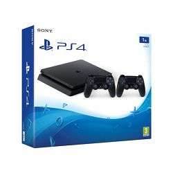GAM SONY PS4 1TB Slim F chassis + Dualshock Controller v2