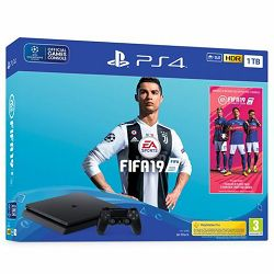 GAM SONY PS4 1TB Slim F chassis + FIFA 19 Stnd. Ed. + 14 Day
