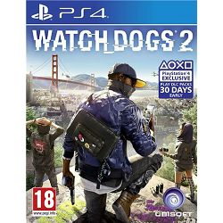 GAME PS4 igra Watch Dogs 2 Stnd. Edition