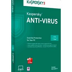Kaspersky Anti-Virus 2017 3D 1Y+ 3mth renewal