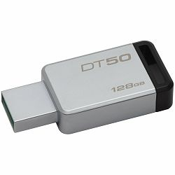 Kingston USB 128GB USB 3.0 DataTraveler 50 (Metal/Black), EAN: 740617255812