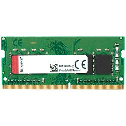 KINGSTON 8GB 2400MHz DDR4 Non-ECC CL17 SODIMM 1Rx8 Lifetime