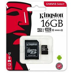 Kingston MicroSDHC Class10 16GB
