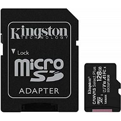 Kingston microSDXC, Select plus, Class10, 128GB