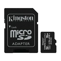 Kingston microSDXC, Select plus, Class10, 16GB