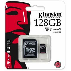 Kingston MicroSDXC CL10 128GB