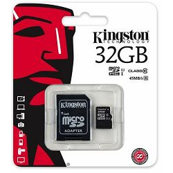 Kingston MicroSDHC CL10 32GB