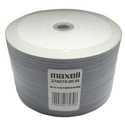 Maxell DVD-R 16X 4.7GB Full Face White Printable
