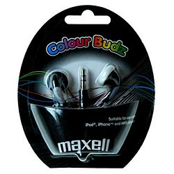 Maxell Stereo colour budz, black