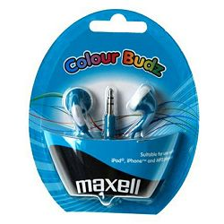 Maxell Stereo colour budz, blue