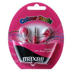 Maxell Stereo colour budz, pink