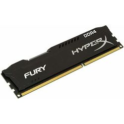 Memorija Kingston DDR4 8GB 2400MHz HyperX Fury Black