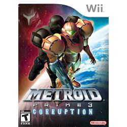 Metroid Prime 3:Corruption Wii
