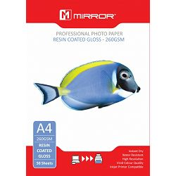 Mirror 260gsm Glossy Photo Paper 50kom
