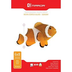 Mirror 260gsm Glossy Photo Paper 50kom 6x8