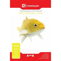 Mirror 260gsm Glossy Photo Paper 50kom 6x4