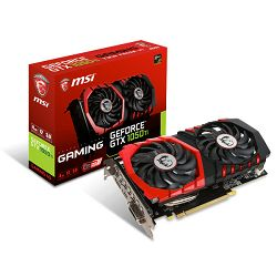 MSI GF GTX 1050Ti Gaming X, 4GB GDDR5, DX12