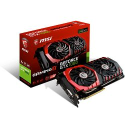 MSI GF GTX 1080 Gaming X, 8GB GDDR5X, DX12