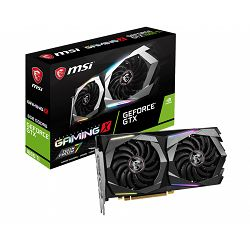 MSI Video Card NVidia GeForce GTX 1660 Ti GAMING X GDDR6 6GB/192bit, 1875MHz/12000MHz, PCI-E 3.0 x16, 3xDP, HDMI, Twin Frozr VII Cooler LED(Double Slot), RGB Mystic Light, Backplate, Retail