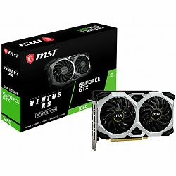 MSI Video Card NVidia GeForce GTX 1660 VENTUS XS 6G OC