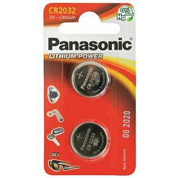 PANASONIC baterije male CR-2032EL/2B