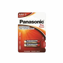 PANASONIC baterije LR03PPG/2BP Alkaline Pro Power
