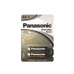 PANASONIC baterije LR6EPS/2BP Alkaline Standard Power