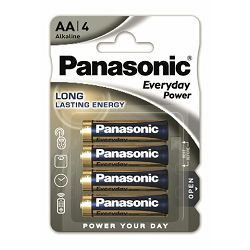 PANASONIC baterije LR6EPS/4BP Alkaline Standard Power