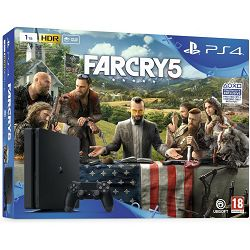 PlayStation 4 1TB E chassis + Far Cry 5