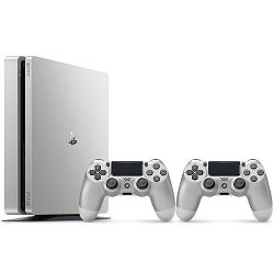 PlayStation 4 500GB D Chassis Silver Limited edition + dodatni Silver DS4 kontroler