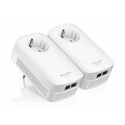 TP-Link AV1000 2-Port Gigabit Passthrough Powerline Starter Kit