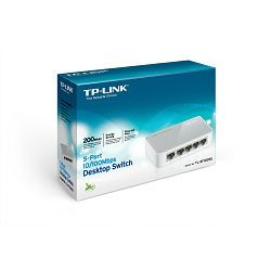TP-Link 5-Port 10 100Mbps Desktop Switch