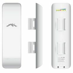 Ubiquiti Networks 5GHz 27dBm NanoStationM5 Outdoor CPE with 16dBI Antena